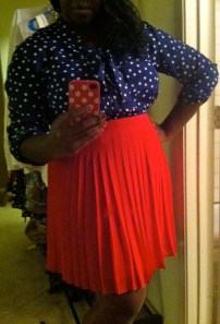 Top: NY&Co. Skirt: Anne Taylor Loft