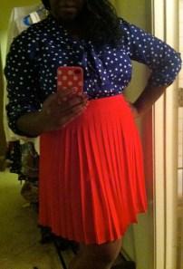 Top: NY&Co. Skirt: Anne Taylor Loft