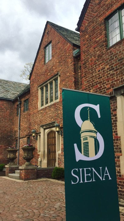 Champaign Toast Siena College