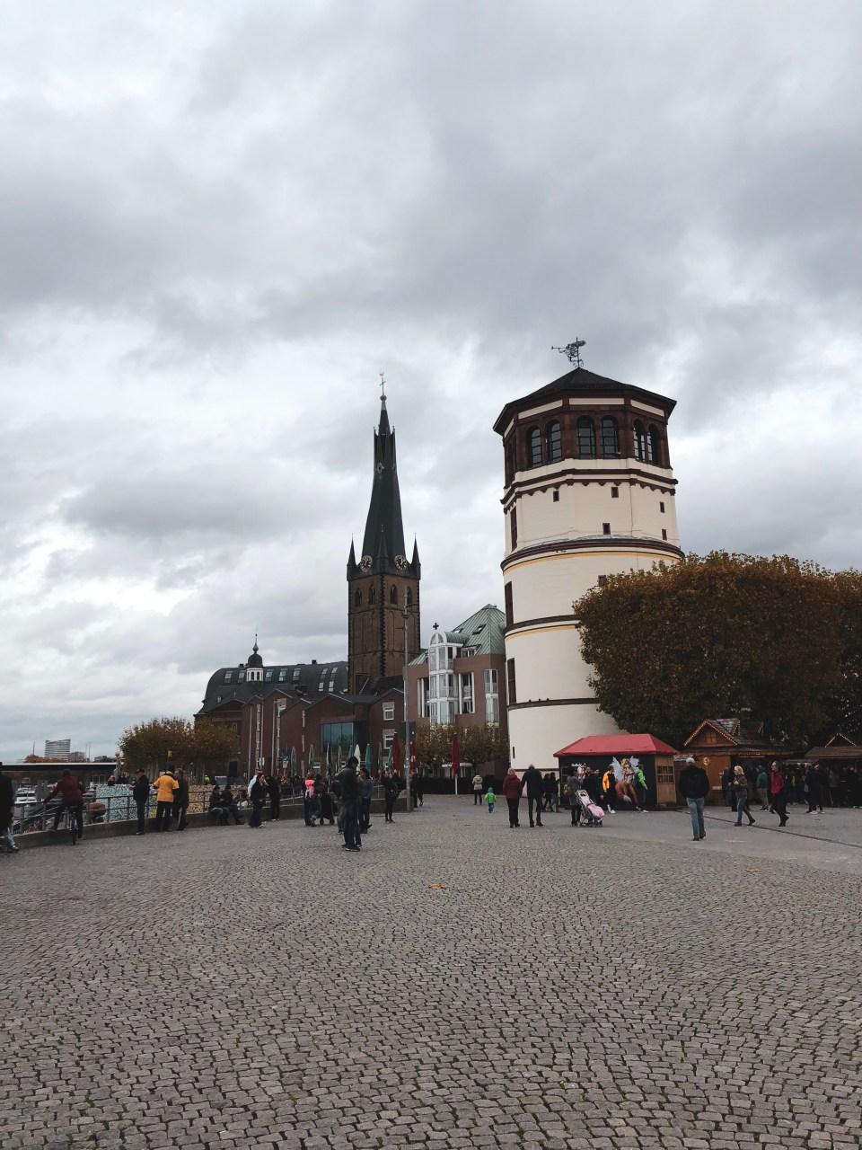Burgplatz - Castle Tower