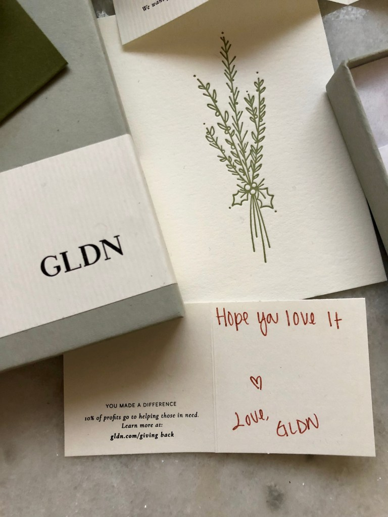 Gldn: Dainty Jewelry that Gives Back