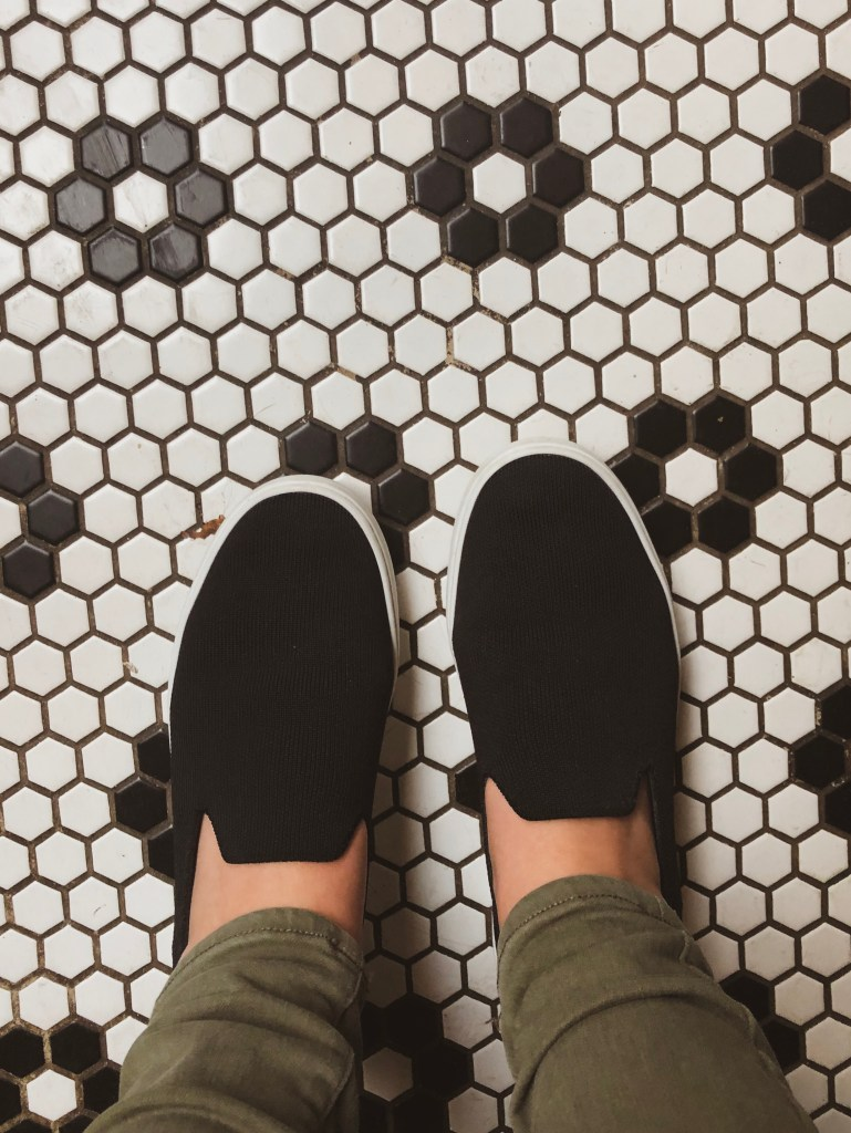 A Walk in My Commuter Shoes: Rothy's Sneaker Review