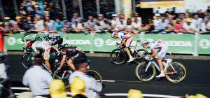 Sprint wielrennen