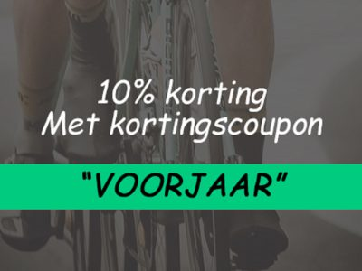 korting 10% photoshop