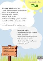 Strategier spanska tala