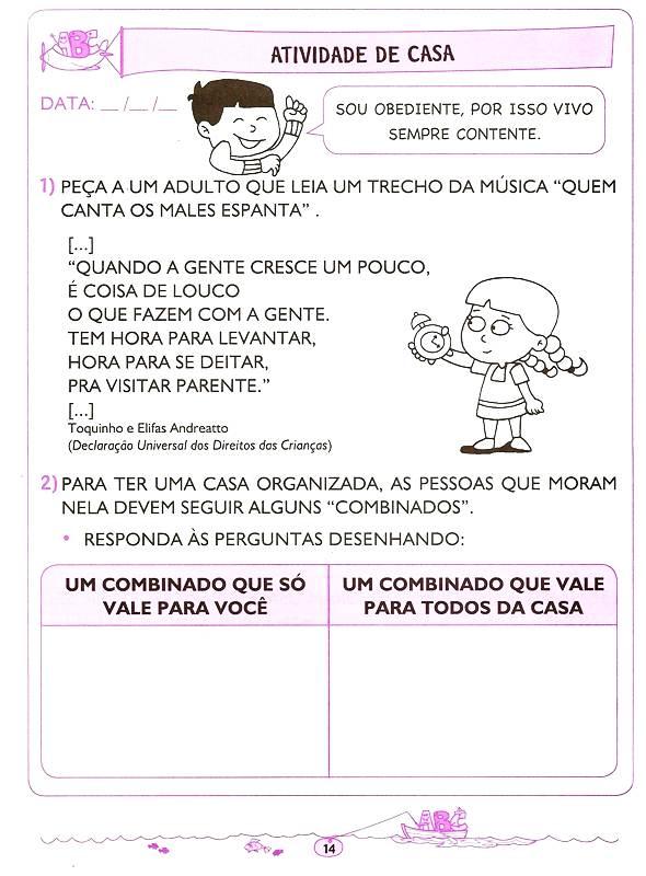 ATIVIDADES EDUCATIVAS PARA EDUCAO INFANTIL  LETRAMENTO