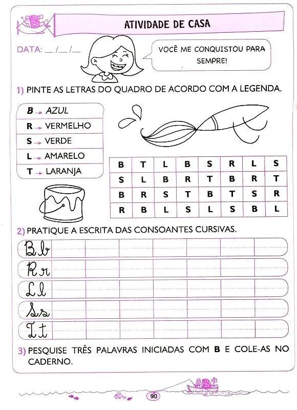 APOSTILA DE EDUCAO INFANTIL LETRAMENTO LNGUA PORTUGUESA DE 5 E 6 ANOS  3