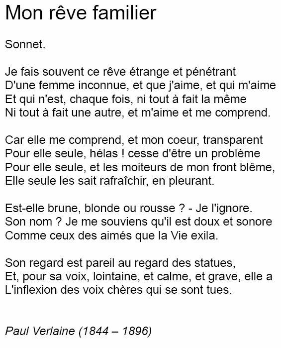Poeme Pour Elle Que J Aime : poeme, Illustration, Poeme, Familier