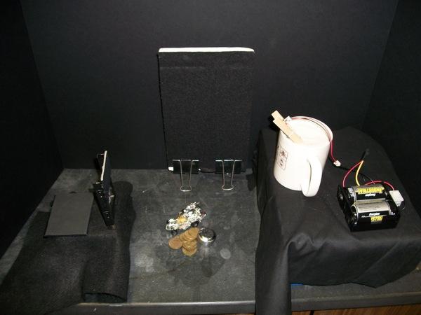 holography setup