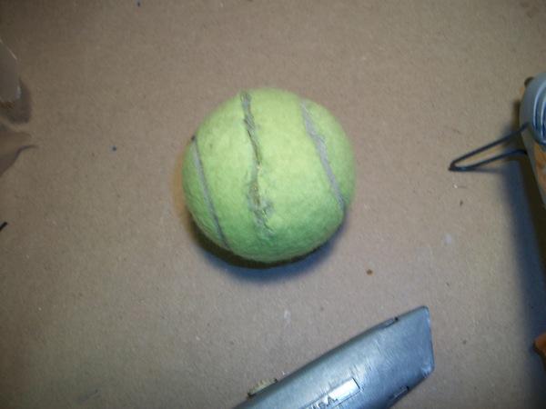 tennis ball sealed
