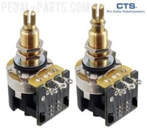 CTS A500K PushPull Long Shaft Potentiometer | PedalParts