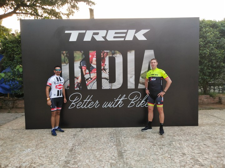 RIDE WITH JENS VOIGT AT THE TREK BIKES CAMP