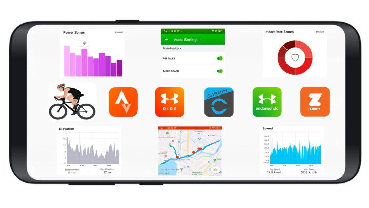 TOP FIVE APPS FOR CYCLING