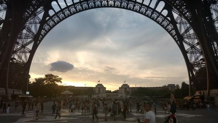 SEINE RIVER BOAT RIDE, PARIS