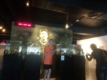 Lionel Messi wall