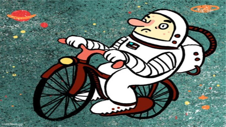WHY CYCLING IS EASIER THAN GOING TO MARS