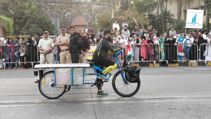 SOLAR POWERED ELECTRIC CARGO CYCLE