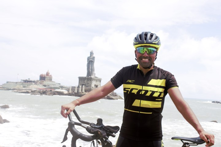 CYCLING KASHMIR TO KANYAKUMARI, BHARAT PANNU SETS NEW WORLD RECORD