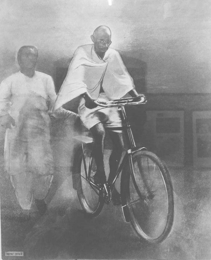 BICYCLE RIDE TO MANI BHAVAN – GANDHI MUSEUM