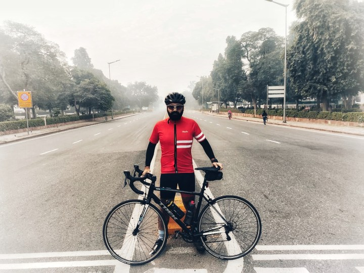 DR. ANKIT BHATIA – HEALTH CARE CYCLING WARRIOR