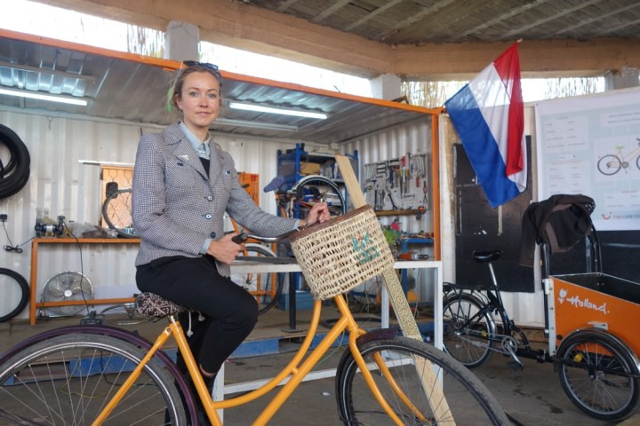 CANTAL BAKKER IS EMPOWERING MOROCCON YOUTH WITH PIKALA BIKES
