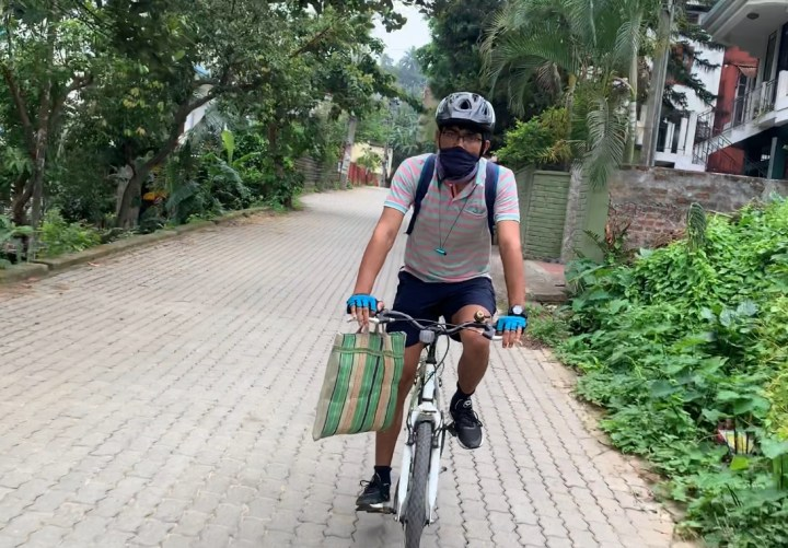 RELIEF RIDERS HELP SENIOR CITIZENS WITH ESSENTIAL SUPPLIES DURING THE PANDEMIC