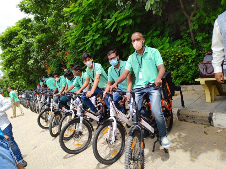 SWIGGY PARTNERS WITH HERO LECTRO WINN TO PILOT FOOD DELIVERY WITH ELECTRIC CARGO BIKES