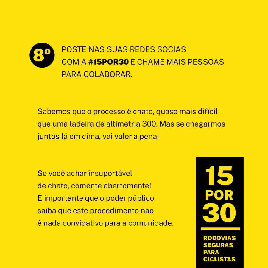 cicloativismo-brasil 15por30 ciclo iguacu