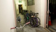 Loved seeing our hallway full of bikes