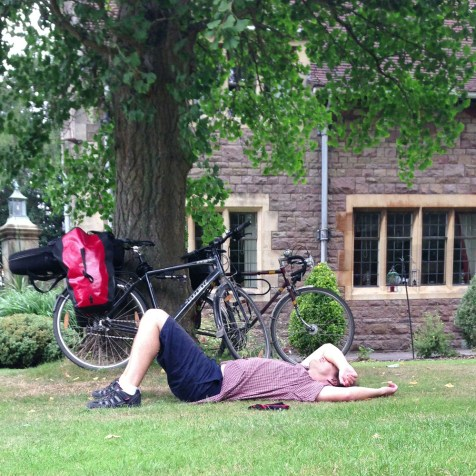 Recovering from the hills around Clifton, tour 2