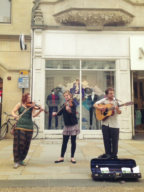 Busking in Oxford