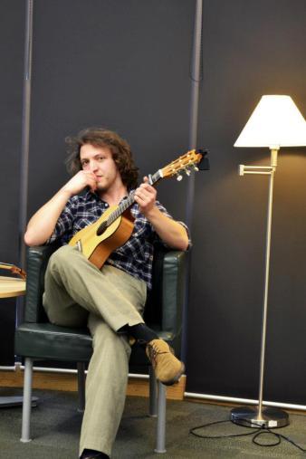 Thoughtful-pose Tim