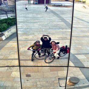 Bristol tour 1 Pedal Folk selfie