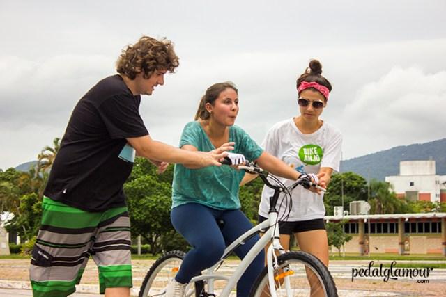 Começando (mesmo) a pedalar: Ingrid