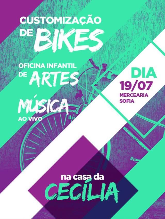Oficina de customização de bikes (grátis!)