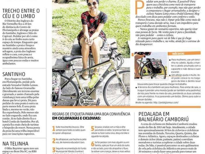 Reportagem no Diário Catarinense