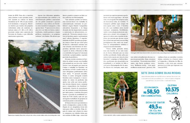 Reportagem na Revista É