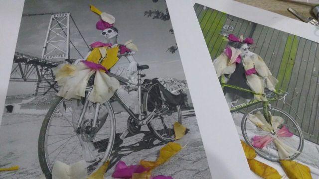Bike arte: 07 mulheres que retratam a rotina de quem pedala com suas criações