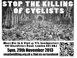 Stop the killing of cyclists