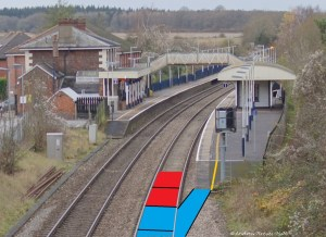 Many train platforms are already configured for the pilot cycle scheme.