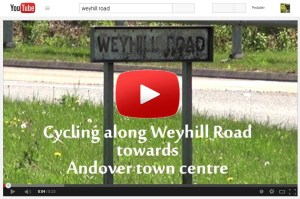 Weyhill Road video thumbnail with Youtube logos