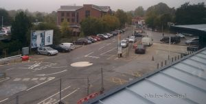 The forecourt of Fleet station won't be improved for possibly up to 2 years!