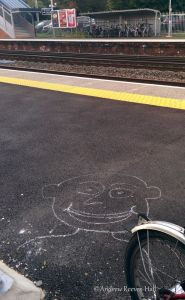 At least cycling does make one happy even if you're left wanting at Fleet station!