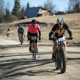 Anthony Fiandaca racing in the fat tire category