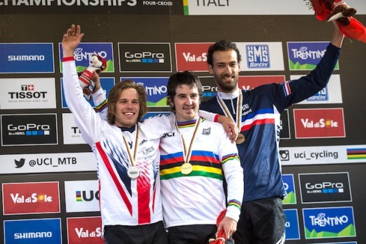 Elite Men's podium [P] Fraser Britton