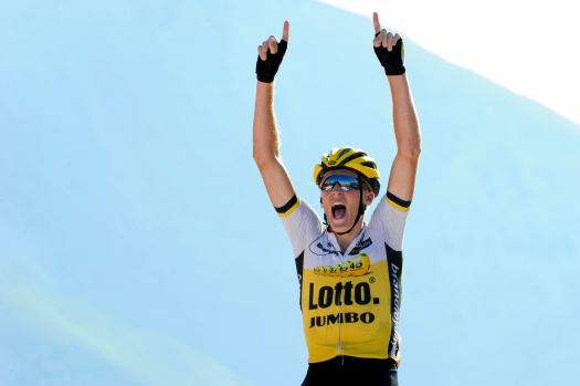 Robert Gesink (Ned) Team LottoNl-Jumbo takes the Queen Stage 14 [P] Cor Vos