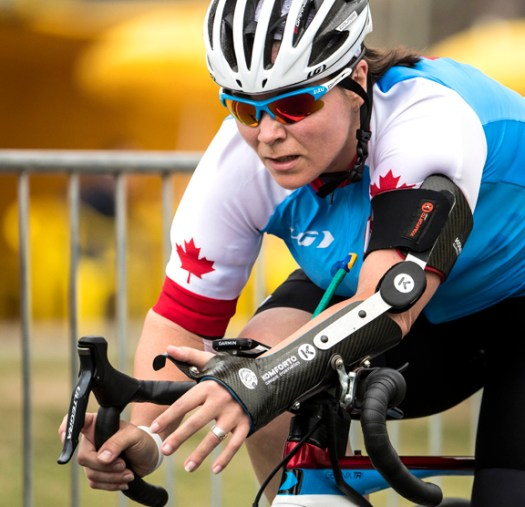 Marie-Eve Croteau [P] Dave Holland / Canadian Paralympic Committee