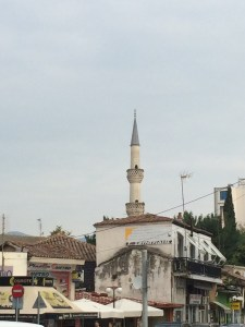 The old historic mosque (a cultural landmark) in Komotini