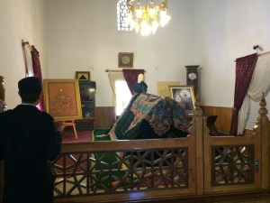 Sems' Tomb about ten blocks from Rumi's Tomb