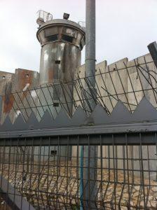 Kalandia Checkpoint between the Jerusalem and Ramallah